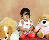 Kids Portrait with Toy